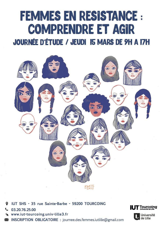 Journée d'étude - Femmes en résistance : Comprendre et agir