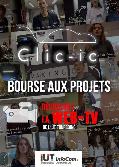 clic-ic - Les projets tuteurés Infocom